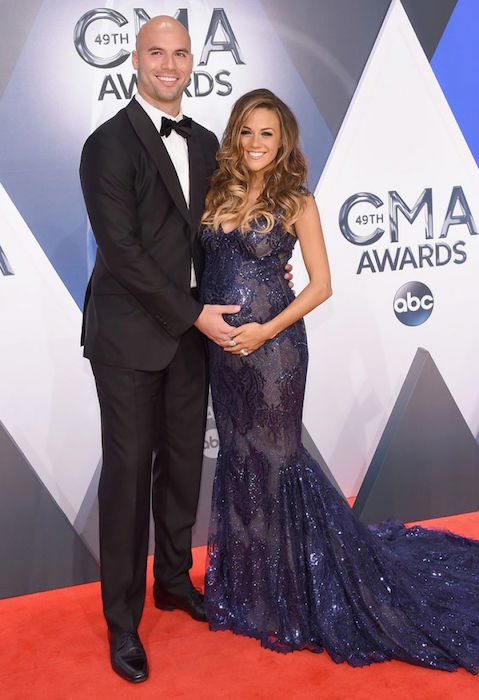 Jana Kramer at 2015 CMA Awards in Nashville