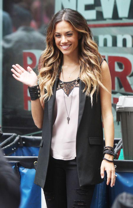 Jana Kramer performing at Fox Friends in New York City in June 2015