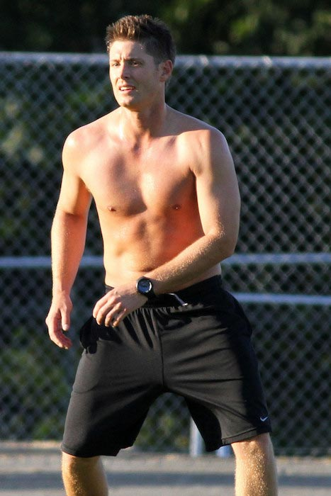 Jensen Ackles workout