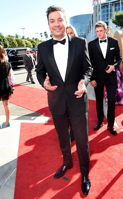 Jimmy Fallon during Emmy Awards 2015