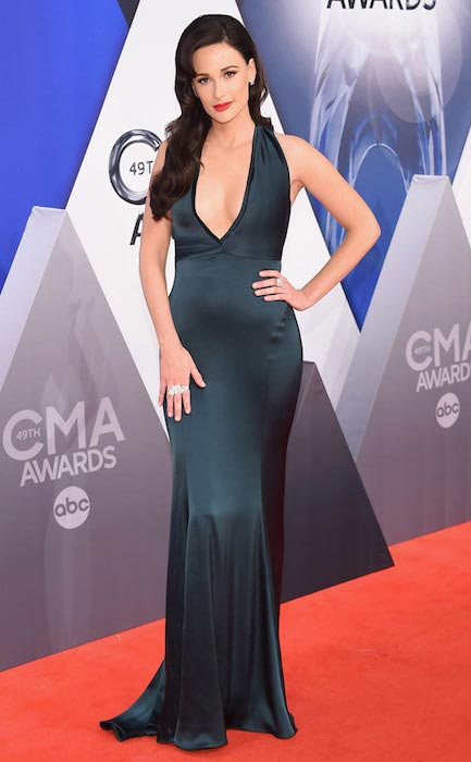 Kacey Musgraves at 2015 CMA Awards