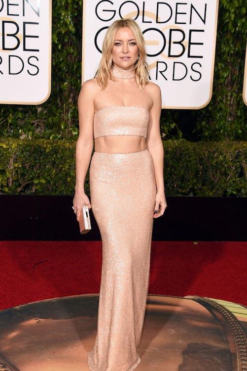 Kate Hudson at Golden Globes 2016