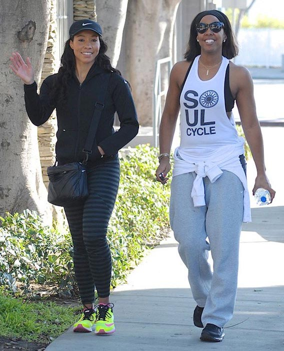 Kelly Rowland with Jeanette Jenkins