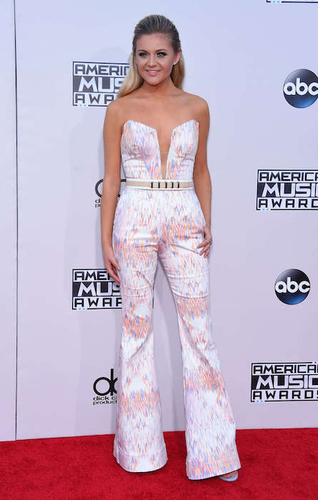 Kelsea Ballerini during 2015 American Music Awards
