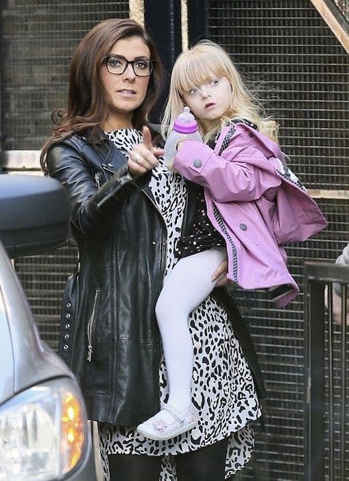 Kym Marsh with daughter Polly