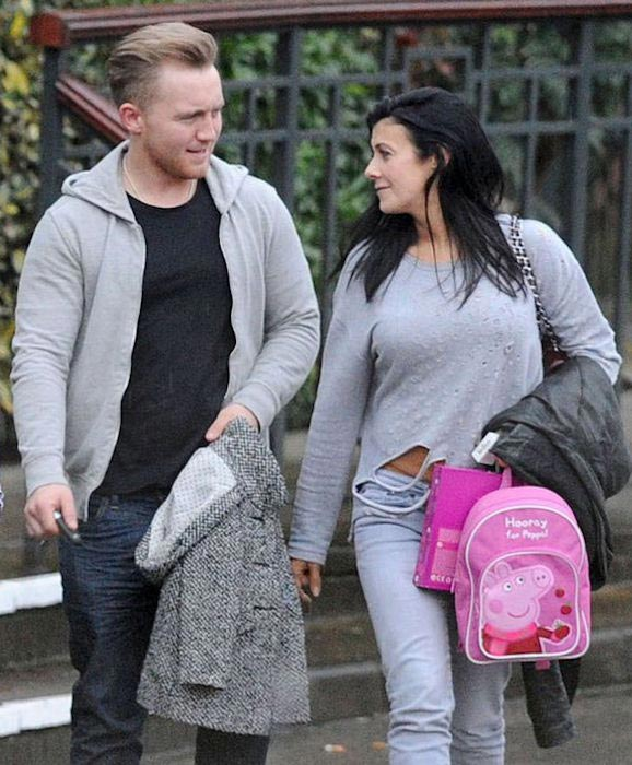 Kym Marsh with new boyfriend fitness coach, Matt Baker