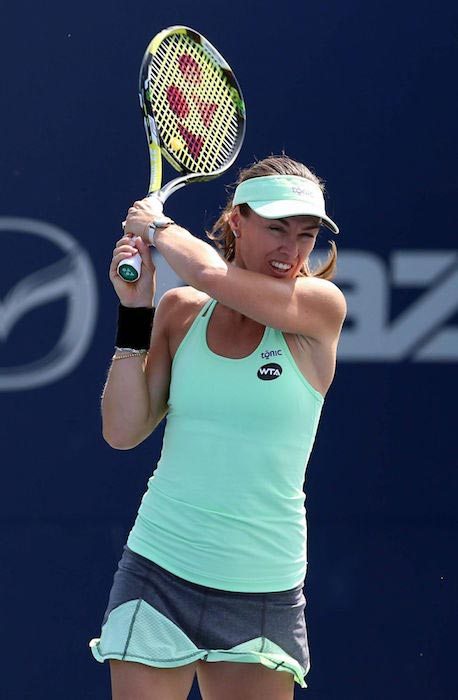 Martina Hingis at 2015 Rogers Cup in Toronto - Day 4