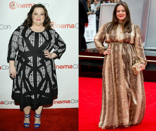 Melissa McCarthy before and after