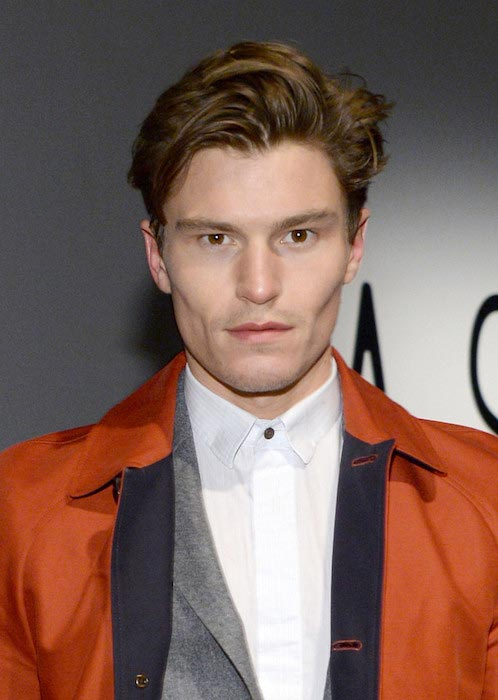 Oliver Cheshire during the Asaf Ganot fashion show during Mercedes Benz Fashion Week Fall 2015