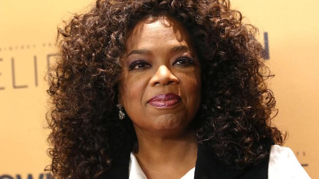 Oprah Winfrey attends the premiere of the Oprah Winfrey Network's (OWN) documentary series Belief at The TimesCenter on Wednesday October 14, 2015