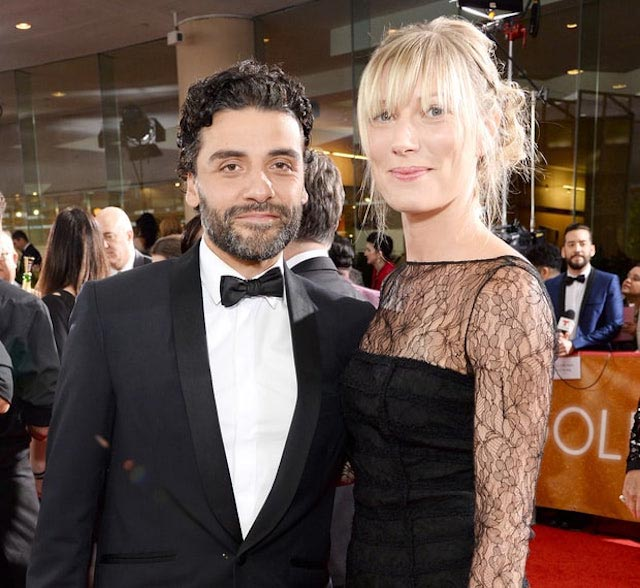 Oscar Isaac and girlfriend Elvira Lind