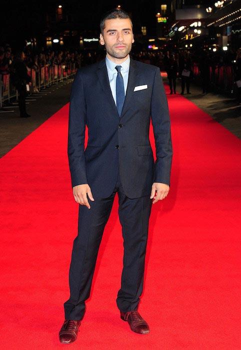 Oscar Isaac height