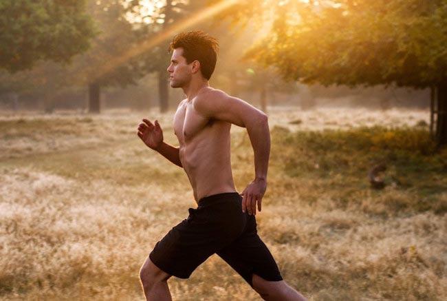 Physical Fitness - running man