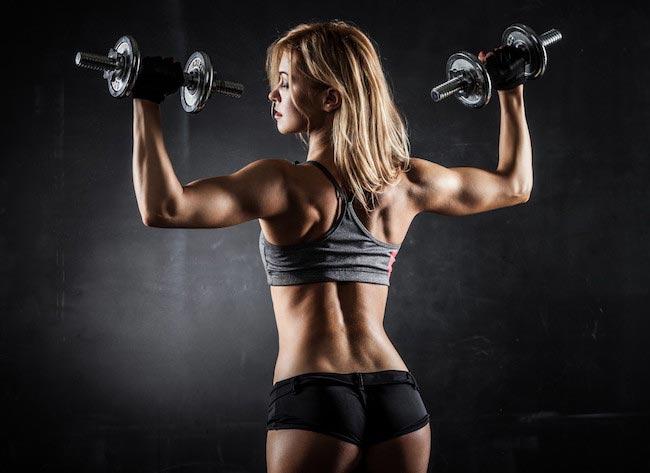 Physical Fitness woman butt