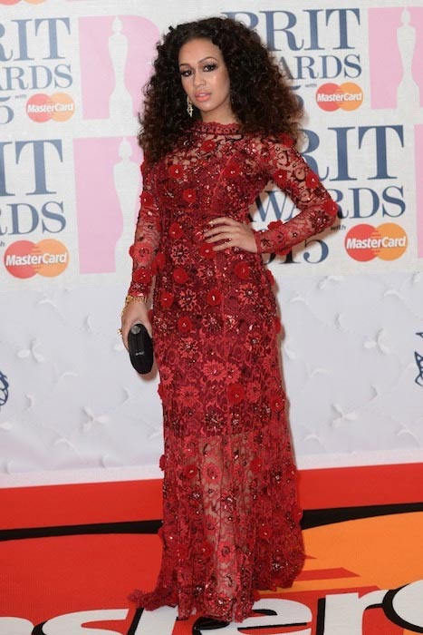 Rebecca Ferguson at The BRIT Awards 2015