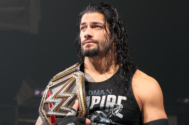 Roman Reigns WWE wrestler