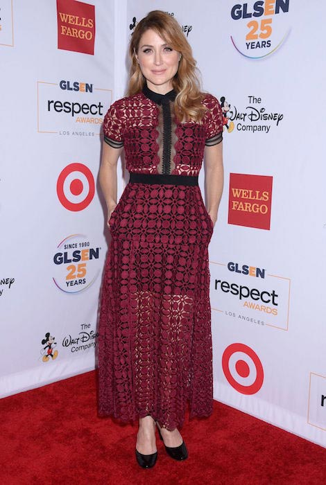 Sasha Alexander at 2015 GLSEN Respect Awards in Beverly Hills