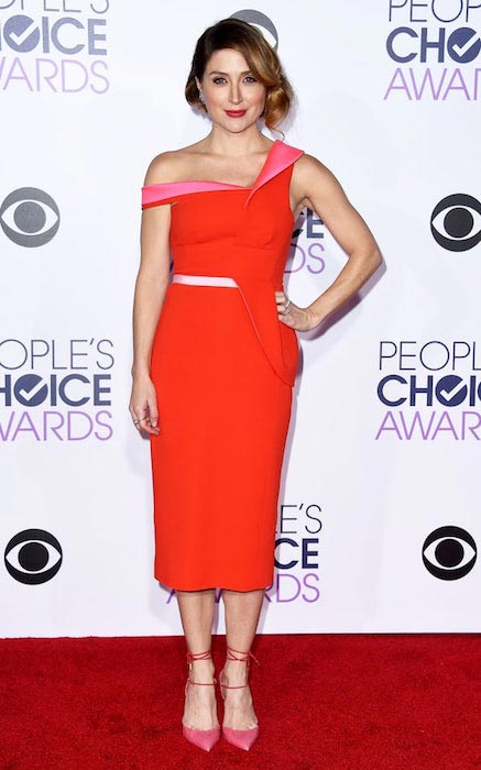 Sasha Alexander at People's Choice Awards 2016