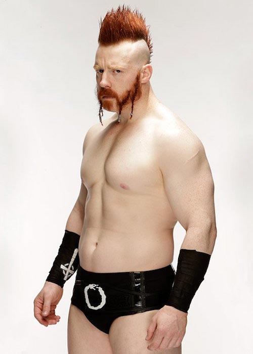 Sheamus shirtless body
