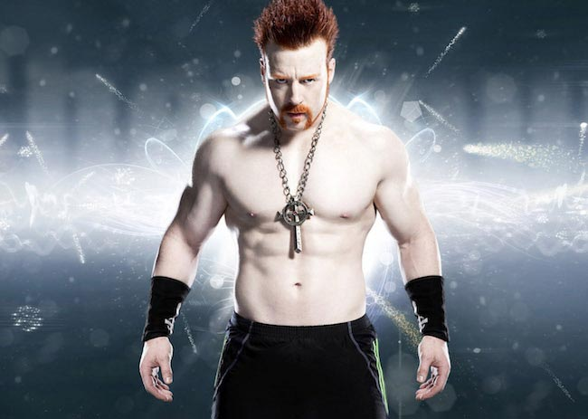 Sheamus wrestler body