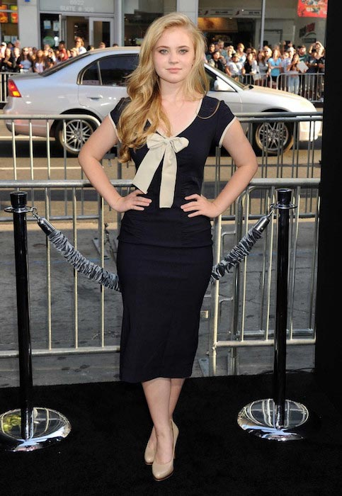 "Sierra McCormick at ""If I Stay"" LA Premiere in August 2014"