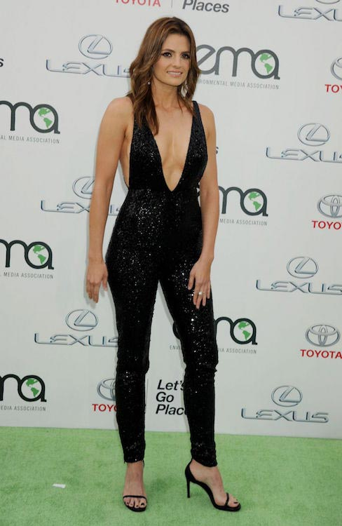 Stana Katic at 2015 EMA Awards in Burbank