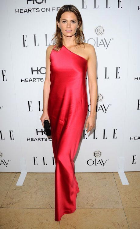 Stana Katic at Elle 2015 Annual Women in TV celebration in Los Angeles