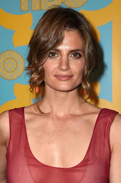 Stana Katic at HBO's Post 2015 Golden Globe Awards Party