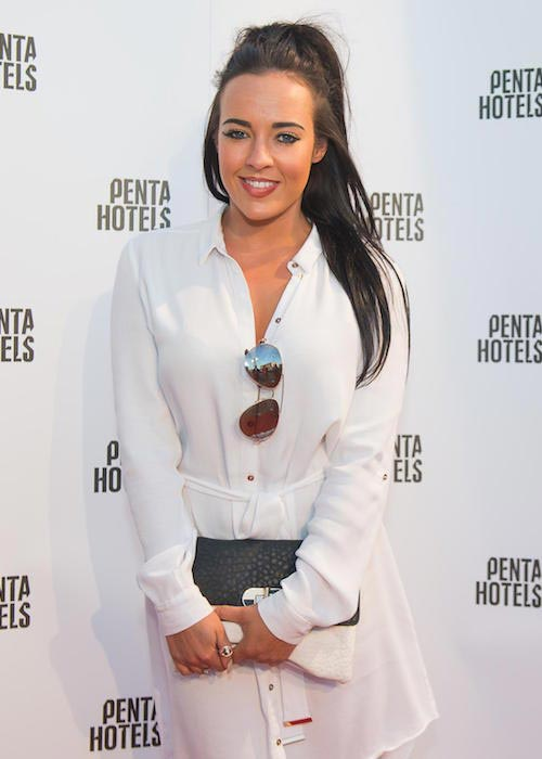 Stephanie Davis at the launch of PentaHotel Derby in July 2015