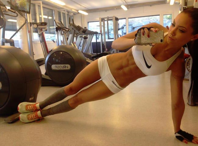 Stephanie Davis workout