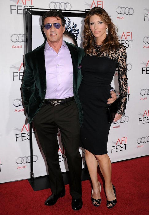 Sylvester Stallone and Jennifer Flavin at AFI Fest 2010
