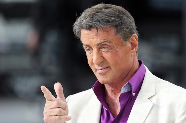 Sylvester Stallone at Cannes Film Festival 2014