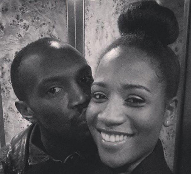 Usain Bolt and April Jackson
