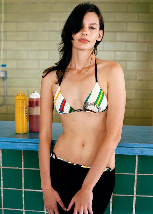 Amanda Murphy in bikini for Vogue