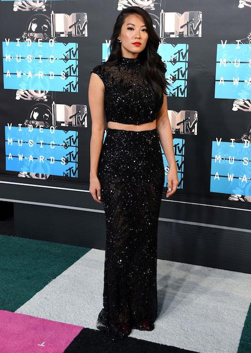 Arden Cho at 2015 MTV Video Music Awards at Microsoft Theater in Los Angeles