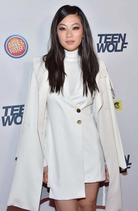 Arden Cho at MTV Teen Wolf Los Angeles Premiere Party in December 2015