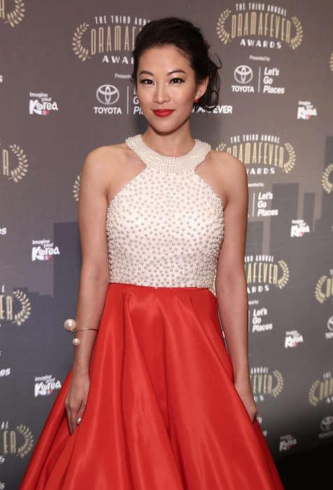 Arden Cho during 2015 DramaFever Awards