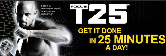 Beachbody Shaun T. Focus T25 Workout