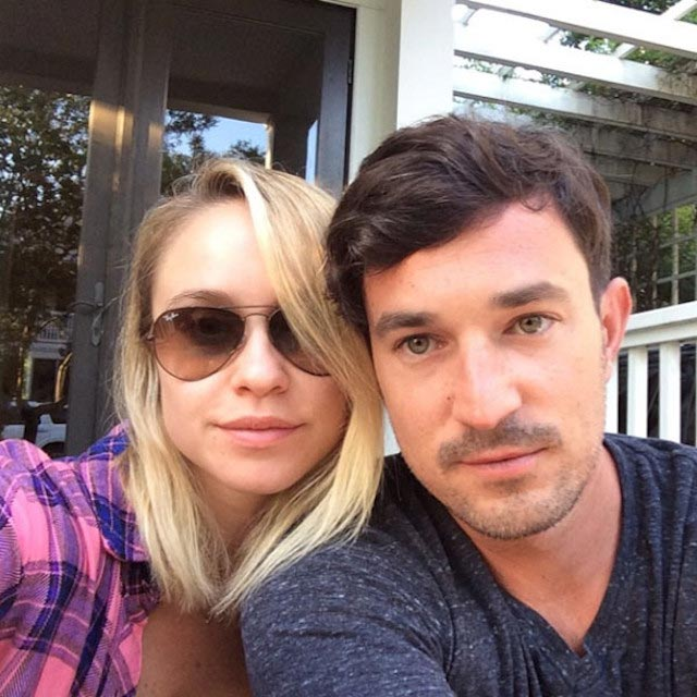 Becca Tobin and Matt Bendik