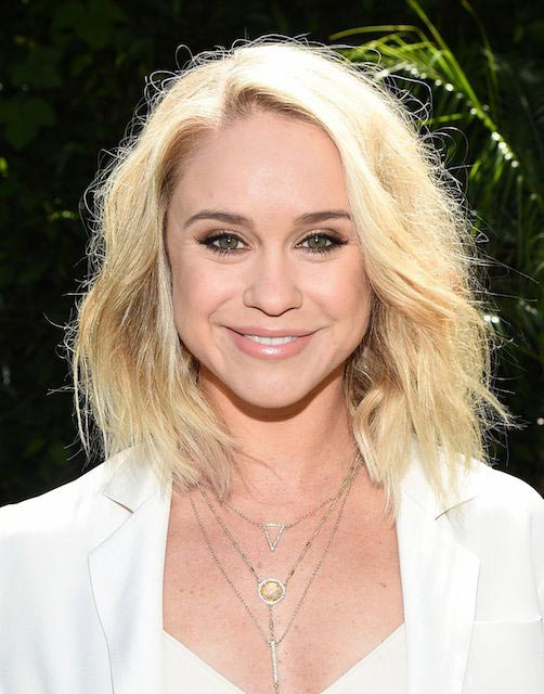 Becca Tobin at June Moss launch party in April 2015
