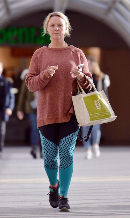 Charlie Brooks out for shopping in Kingston on January 7, 2016