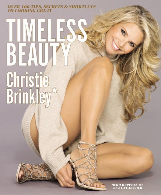 Christie Brinkley at the Timeless Beauty Book Cover