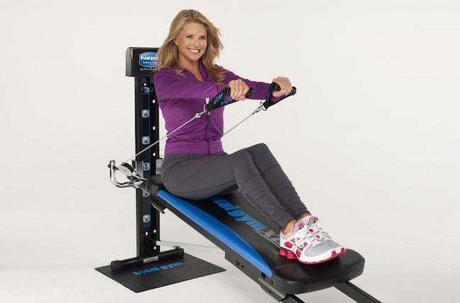 Christie Brinkley workout