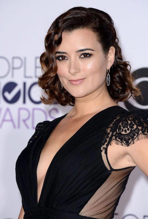 Cote de Pablo at 2015 People's Choice Awards in Los Angeles