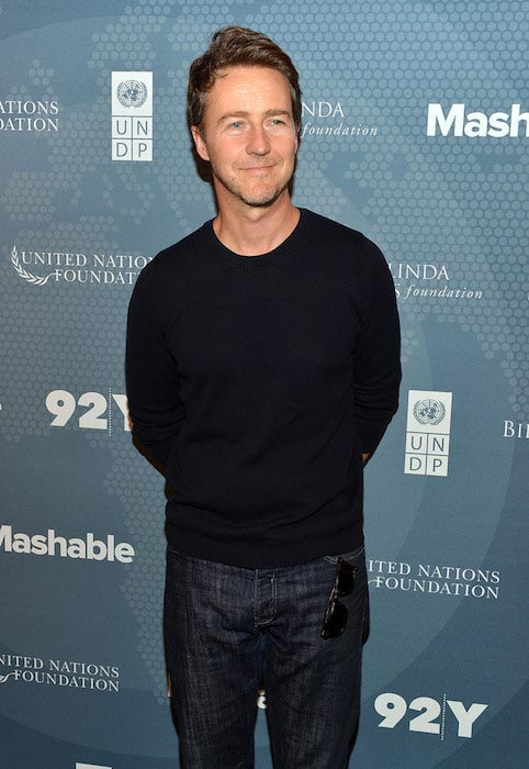 Edward Norton height