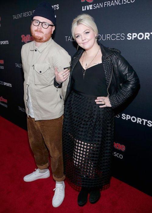 Elle King and boyfriend Fergie