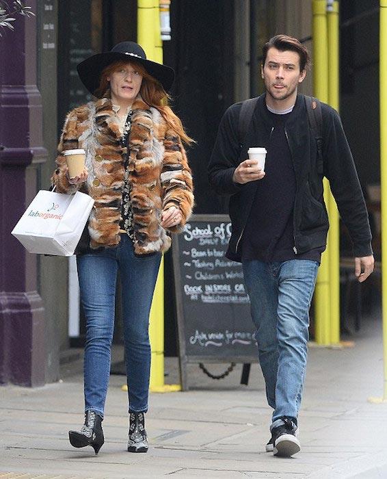 Florence Welch and James Nesbitt