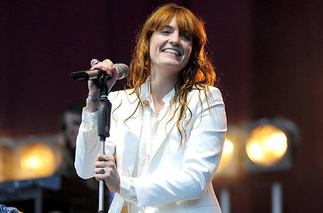 Florence Welch performing during BBC Radio 1's Big Weekend on May 23, 2015