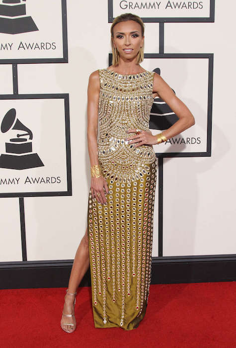 Giuliana Rancic at 2016 Grammy Awards