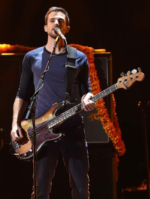Guy Berryman at the 2015 iHeartRadio Music Festival